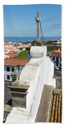 From The Church Tower Bath Towel