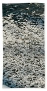 Frost Flakes On Ice - 31 Bath Towel