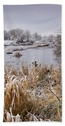Frosty River Tyne Bath Towel