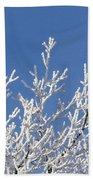 Frosty Winter Wonderland 01 Bath Towel