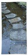Slippery Stone Path Bath Towel