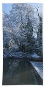 Frozen Iseland Bath Towel