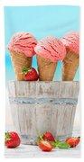 Fruit Ice Cream Bath Towel
