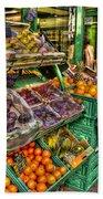 Fruit Market Bath Towel