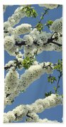 Fruit Tree Blooms Bath Towel