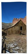 Fruita Horse Stable Capitol Reef National Park Utah Bath Towel