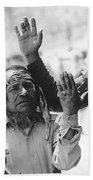 Ft. Apache Homage 1948 Ft. Apache Celebration Ft. Apache Arizona Saluting Apaches 1970 Bath Towel