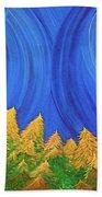 Full Moon Forest By Jrr Bath Towel