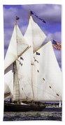 Full Sails Ahead Bath Towel