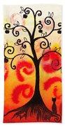 Fun Tree Of Life Impression Iv Bath Towel