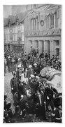 Funeral Of Queen Victoria Hand Towel