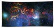 Galactic Storm Bath Towel