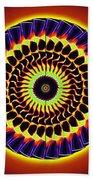 Galaxy Spotlight Kaleidoscope Bath Towel