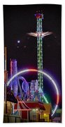 Galveston Pleasure Pier Bath Towel