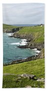 Atlantic Coast Of Ireland Bath Towel