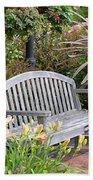 Garden Benches 3 Bath Towel