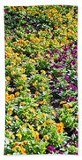 Garden Flowers Bath Towel