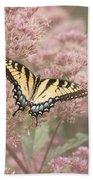 Garden Visitor - Tiger Swallowtail Bath Towel