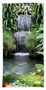 Garden Waterfall Bath Towel