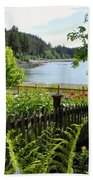 Garden With A View Bath Towel