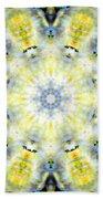 Gardenia Mandala Bath Towel