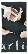 Garlic Bath Towel