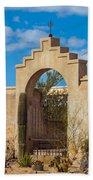 Gate At San Xavier Del Bac Bath Towel