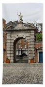 Gate Of Fortitude - Dublin Castle Bath Towel