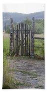 Gate To Peaceful Paradise Bath Towel
