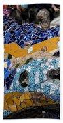 Gaudi Dragon Bath Towel