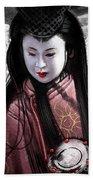 Geisha Kunoichi Bath Towel