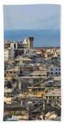 Genova. Panoramic View Bath Towel
