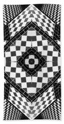 Geometric Progression Bath Towel