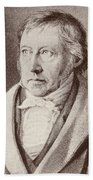 Georg Hegel  Bath Towel