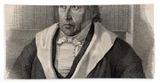 Georg Wilhelm Friedrich Hegel Bath Towel