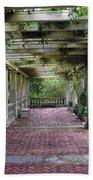 George Eastman Home Pergola Rochester Ny  Bath Towel