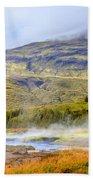 Geothermal Pools Bath Towel