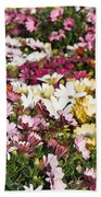 Gerbera Flowers Bath Towel