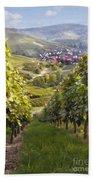 German Vineyard Bath Towel