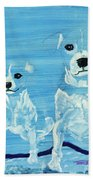 Ghost Dogs Bath Towel