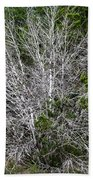 Ghost Trees Bath Towel