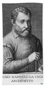 Giacomo Barozzi Da Vignola (1507-1573) Bath Towel