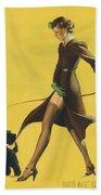 Gil Elvgren's Pin-up Girl Bath Towel