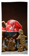 Gingerbread Family Bath Towel