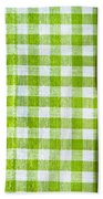 Gingham Bath Towel