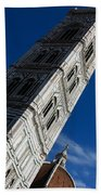 Giotto Fantastic Campanile - Florence Cathedral - Piazza Del Duomo - Italy Bath Towel