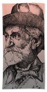 Giuseppe Verdi Bath Towel