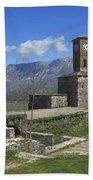 Gjirokaster Castle Albania  Bath Towel