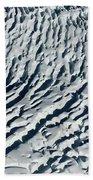 Glacier Abstract Bath Towel