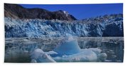 Glacier And Ice Bath Towel